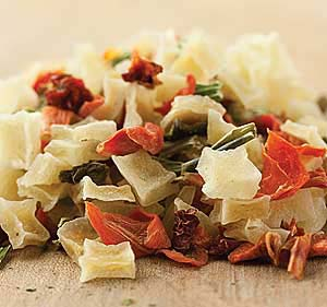 Dehydrated Vegetable Pieces - 1/2 lb.