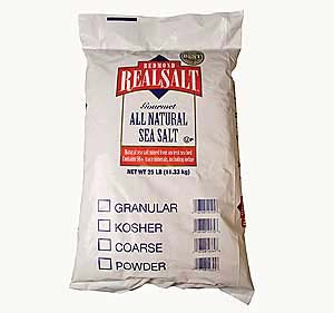 Natural Sea Salt - 1 lb.